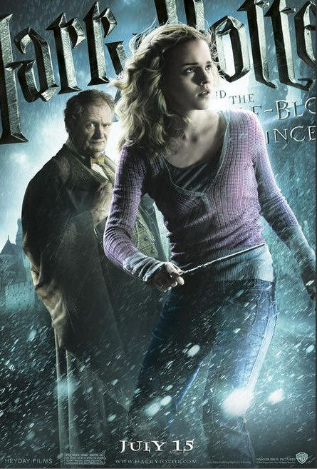 Harry potter and the half blood prince advertisement posters - Hermione granger and the half blood prince ...